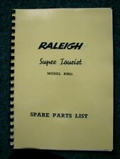 Raleigh Super Tourist RM11 Moped Spare Parts List