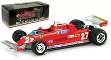 Brumm Ferrari 126CK TURBO # 27 GP ITALIA 1981-GILLES VILLENEUVE scala 1/43