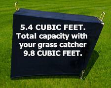Cloth Leaf Extension  5.4 Cubic Feet for Grass Catcher Bagger  by Pack'em RLEC-5