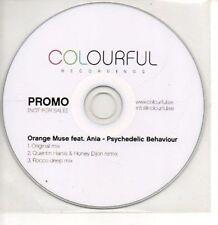 (AS807) Orange Muse, Psychaedelic Behaviour - DJ CD