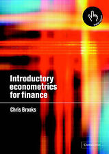 Introductory Econometrics for Finance by Chris Brooks (Paperback, 2002)