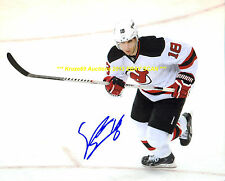STEVE BERNIER In ACTION Auto SIGNED 8x10 Photo NEW JERSEY DEVILS Star WOW