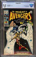 Avengers # 64 Cbcs 9.2 Oww (Marvel 1969) Black Widow appearance