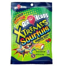 "Air Heads Extremes ""SOURFULS"" Rainbow Berry Soft & Chewy Candy 6.0 ounce"