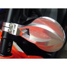 "Axia Alloys Aluminum Round 4"" CONVEX Side Mirror & Clamps Polaris Yamaha"
