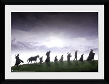 Lord Of The Rings Fellowship LOTR Fantasy Film Framed Poster Print 40x30cm