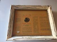 Vintage Poultry Advertising Framed 1916 J.B.L. National Formulae Chickens Ducks
