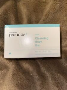 Proactive Cleansing Body Bar 2.7 OZ New Sealed Box No Expiration Listed