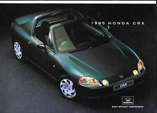 HONDA CRX  SALES BROCHURE 1995