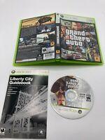 Microsoft Xbox 360 CIB Complete Tested Grand Theft Auto IV GTA 4