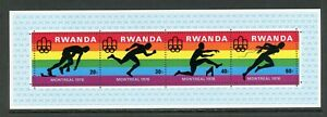 Rwanda Scott #770 MNH S/S OLYMPICS 1976 Montreal Soccer CV$5+