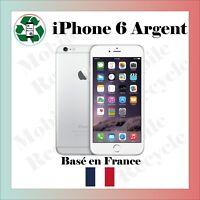 iPhone 6 16 Go Argent débloqué tout opérateur Vendeur Pro Garanti 3 mois- 72h00