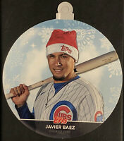 JAVIER BAEZ 2020 TOPPS HOLIDAY RARE ORNAMENT CARD #WHO-JB CHICAGO CUBS SP 🔥