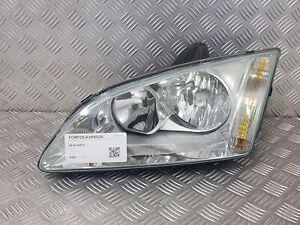 Headlight Left - Ford Focus II D' Oct.2004 To Dec.2007 - 4M51-13K060-BA