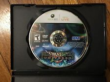 Phantasy Star Universe (Microsoft Xbox 360, 2006) Disc & Case