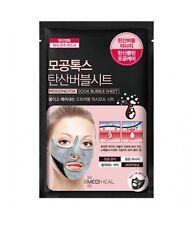 MEDIHEAL Mogongtox Soda Bubble Sheet Mask Peeling Brightening 18ml (8EA)