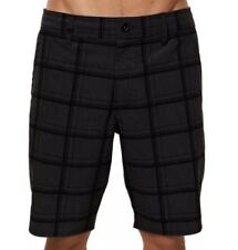 O'NEILL Mens Mixed Hybrid Shorts Size 32 Blk