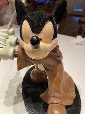 Rare Disney Star Wars Luke Jedi Mickey Mouse Figure Lightup Figurine Collectible
