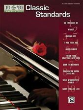 10 For 10 Sheet Music: Classic Standards For Piano Vocal And Chords Book, , Good