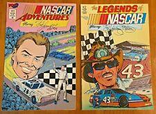 NASCAR ADVENTURES #1 (ELLIOT)   &   NASCAR LEGENDS #2 (RICHARD PETTY)