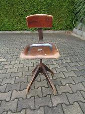 Stuhl Drehstuhl alt Industriedesign