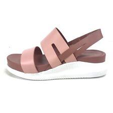 Cole Haan Womens 6 Zerogrand Coral Almond Cedarwood Optic White Sandals W10557