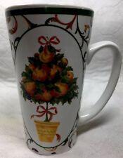 Pamela Gladding Christmas Orange Tree Certified International 16oz Coffee Mug