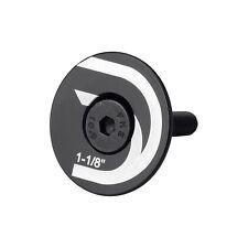 "Deda - Alloy Stem / Headset Top Cap - Black - 1 1/8"""