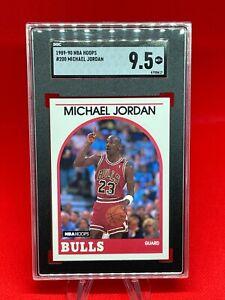 1989-90 Hoops, Michael Jordan #200, SGC9.5!! MINT+, 🔥🐐💰📈
