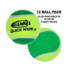Gamma Beginner Child or Adult Training (Transition) Practice Tennis Balls: Or.