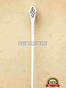 The Staff of Gandalf White From LOTR Top Quality Customer Satisfaction