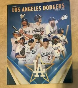 2020 Los Angeles Dodgers Yearbook NEW shipped in a box DENTED CORNER