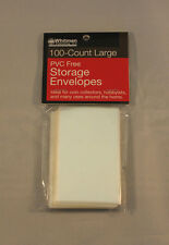 COIN STORAGE ENVELOPES - ARCHIVAL QUALITY - LARGE - 100 Total