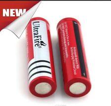 2 x UltraFire 18650 4200 3.7v Recargable Li-Ion Batería Para Antorcha/Linterna