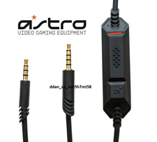 NEW Astro Gaming A40 TR cable wire inline mute volume and mic MOBILE PC CONSOLE