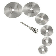 7pc HSS Rotary Tool/Circular Saw Blades/Cutting Discs/Hobbies/Models/Crafts
