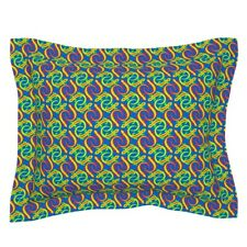 Psychedelic Salamander Newt Lizard Amphibian Reptile Pillow Sham by Roostery