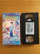 A Journey Through Fairyland VHS movie tape Japanese animation anime Sanrio