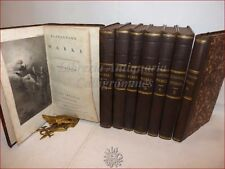 KLOPSTOCKS WERKE 8 volumi MESSIAS ODEN 1798-1804 Lipsia Goschen Opere Tavole