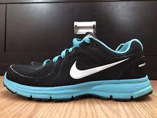 Nike Air Relentless Women's Shoes Size 8.5 Black Blue Running 443861-011