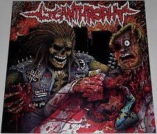 "Lycanthrophy (s/t) 12"" Blue Marbled Vinyl Ltd Ed / New (2014) Grindcore Punk"