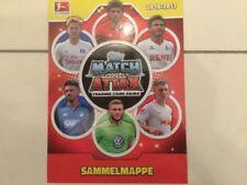 Match Attax 2016/2017 komplette Sammelmappe mit allen Karten top