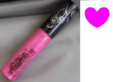 HARD CANDY ❤ GLOSSAHOLIC Lip Gloss Super Glossy Shimmer TIPSY Sheer Pink Shine!!