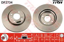 Brake Disc (2 Piece) - TRW df2734