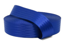 Blue 11 Panel Polyester Webbing | Seat Belt Webbing 47mm | Soft and very strong