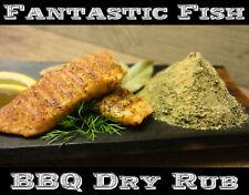 500g Fisch BBQ Rub Lachs Gewürz Bratfisch Grill Gewürz Flammlachs Kräuter Salz