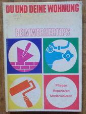 GERMAN BOOK DEUTSCHE BUCH WOHNUNG APARTMENT FLAT REPAIR REPARATUR DESIGN HISTORY