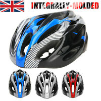 Unisex Helmet Road Mountain Bicycle Bike Cycling Safety Outdoor Sports Helmet UK