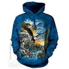 The Mountain Unisex Adult FIIND 11 Eagles Bird Hoodie Small 7235780