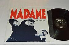 MADAME Eldorado LP 1987 Hello Records HLO-2000 Pop Rock French Quebec Vinyl VG+